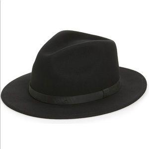 Brixton Messer ll Felted Wool Fedora Black